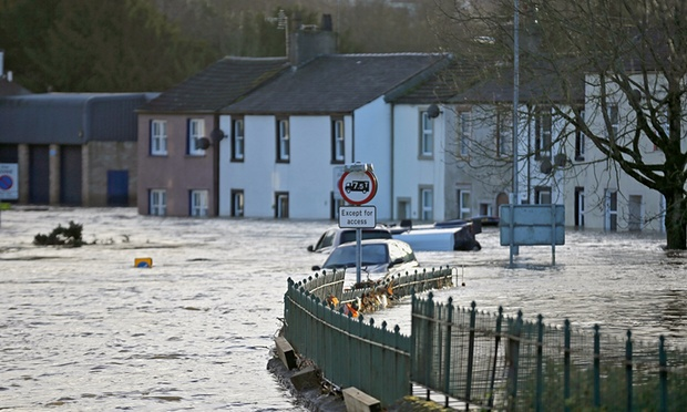 Storm Desmond flooding UK